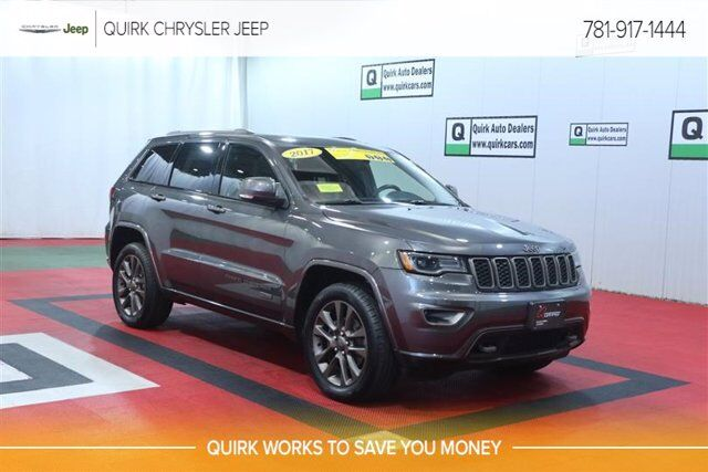 2017 Jeep Grand Cherokee Limited 75th Anniversary Edition Braintree MA