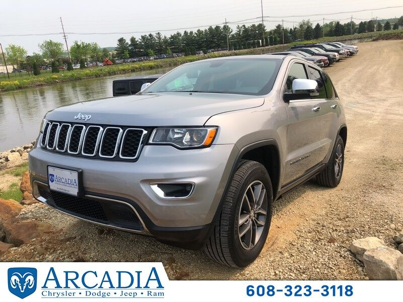 Used 2017 Jeep Grand Cherokee Limited In Arcadia Wi