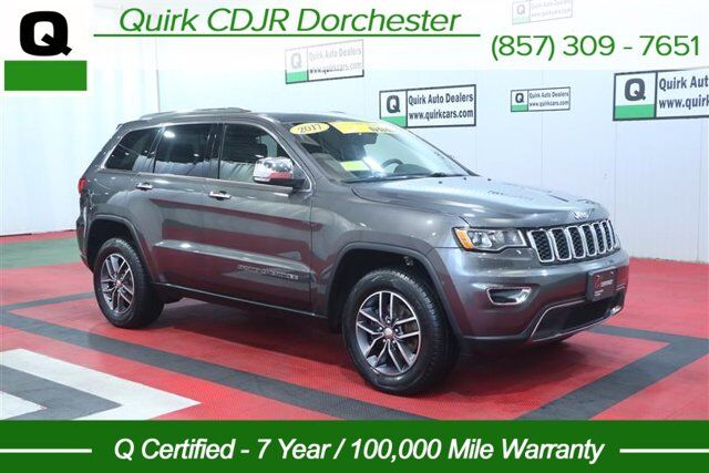2017 Jeep Grand Cherokee Limited Boston MA