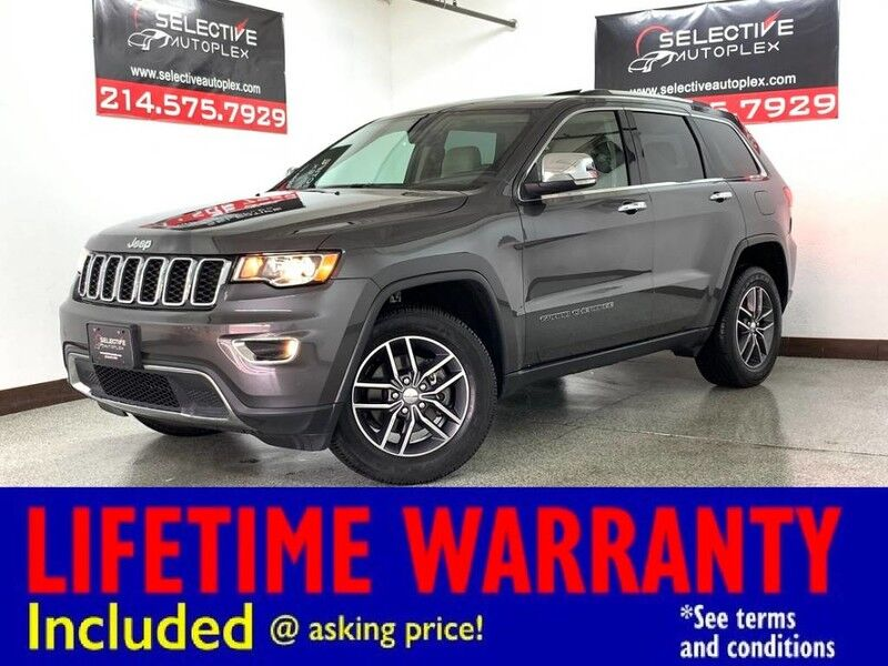 2017 Jeep Grand Cherokee Limited Carrollton TX
