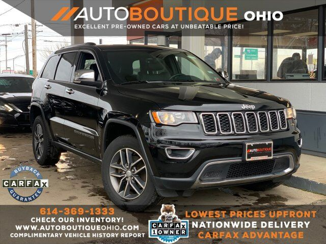2017 Jeep Grand Cherokee Limited Columbus OH