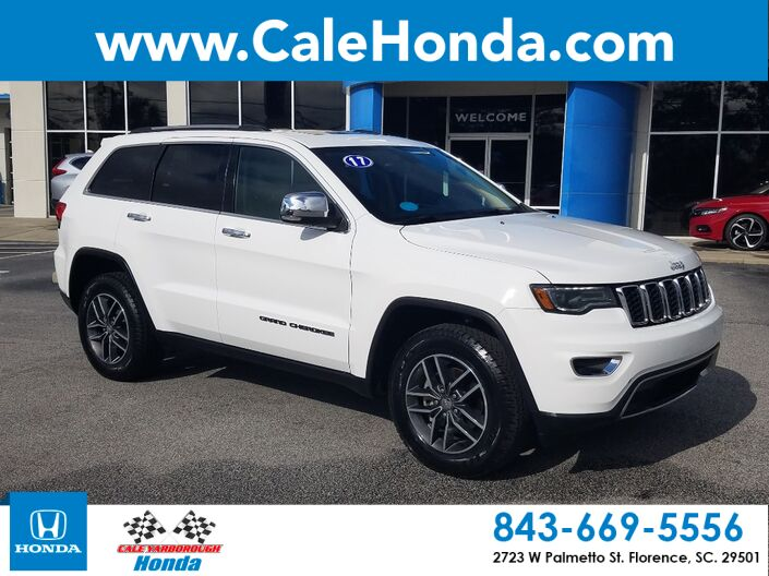 2017 Jeep Grand Cherokee Limited Florence SC
