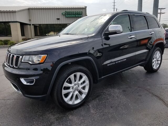 2017 Jeep Grand Cherokee Limited Fort Wayne Auburn and Kendallville IN