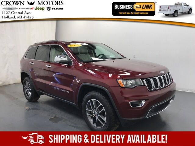 2017 Jeep Grand Cherokee Limited Holland MI