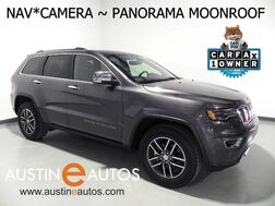 2017_Jeep_Grand Cherokee Limited_*LUXURY GROUP II, NAVIGATION, BACKUP-CAM, CLIMATE SEATS, PANORAMA MOONROOF, BLUETOOTH_ Round Rock TX