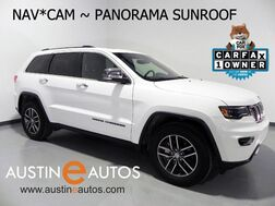 2017_Jeep_Grand Cherokee Limited_*LUXURY GROUP II, NAVIGATION, BACKUP-CAM, CLIMATE SEATS, PANORAMA ROOF, BLUETOOTH_ Round Rock TX