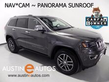 Jeep Grand Cherokee Limited *LUXURY GROUP II, NAVIGATION, CAM, CLIMATE SEATS, PANORAMA ROOF, BLUETOOTH 2017
