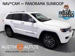 2017_Jeep_Grand Cherokee Limited_*LUXURY GROUP II, NAVIGATION, CAM, CLIMATE SEATS, PANORAMA ROOF, BLUETOOTH_ Round Rock TX