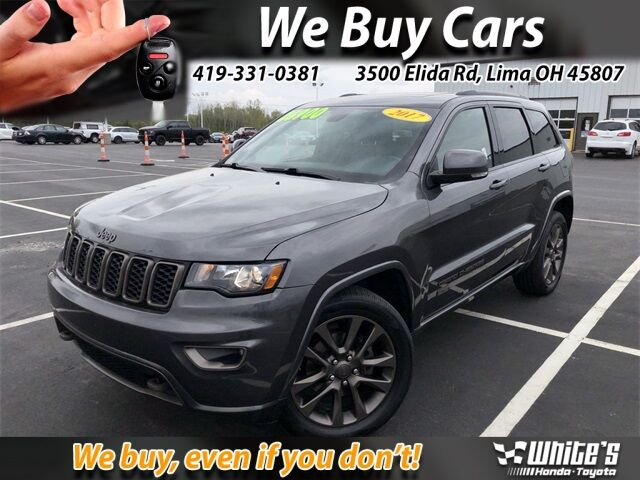 2017 Jeep Grand Cherokee Limited Lima OH