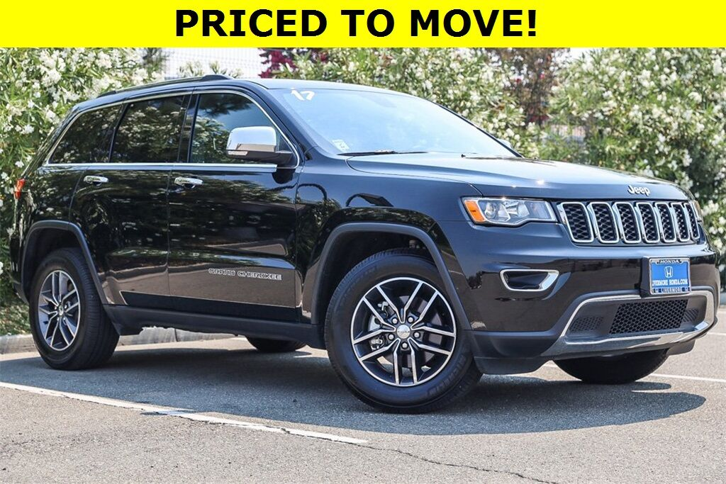 2017 Jeep Grand Cherokee Limited Livermore CA