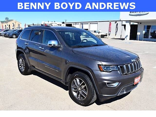 2017 Jeep Grand Cherokee Limited Andrews TX