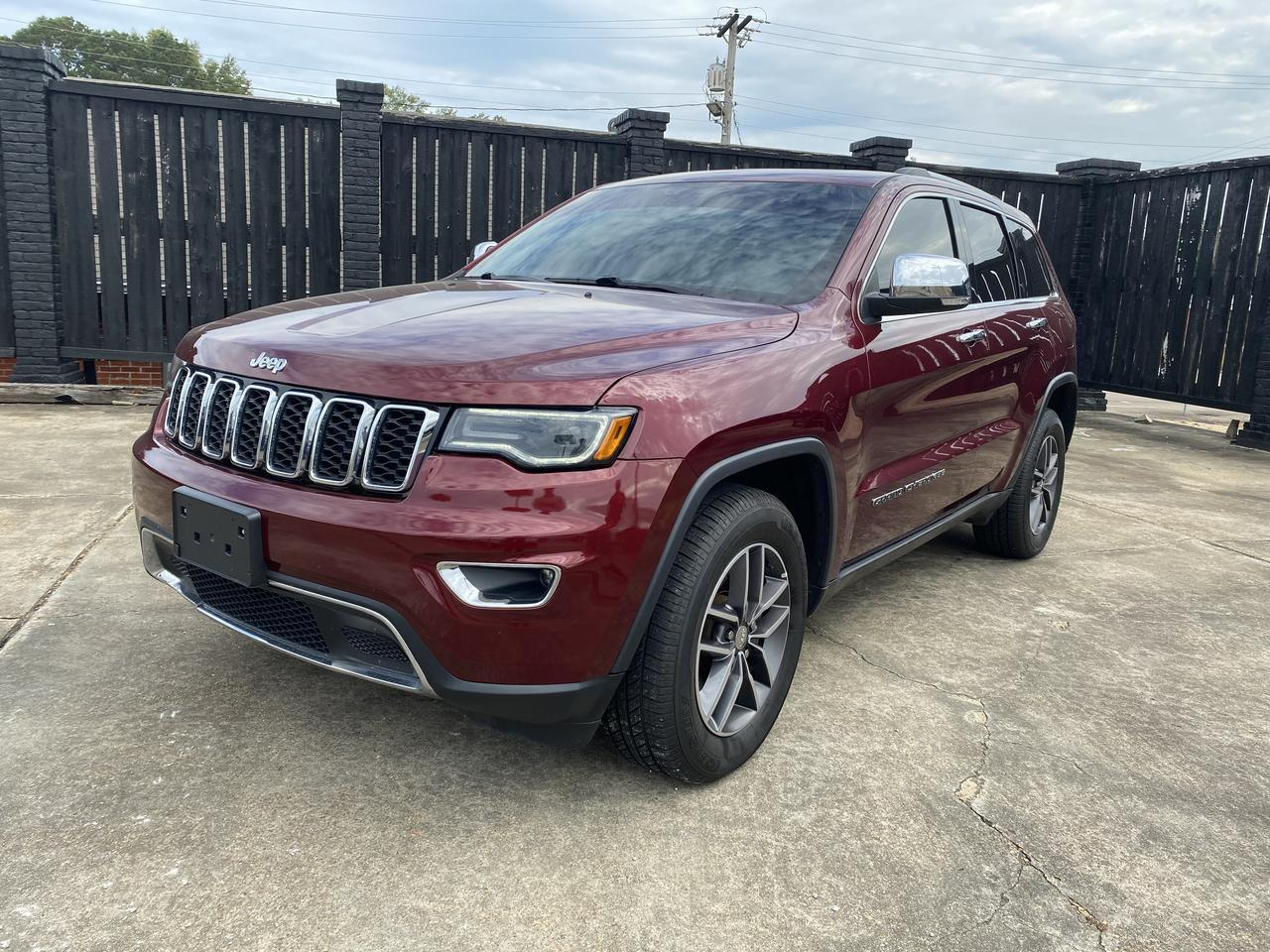 2017 Jeep Grand Cherokee Limited Louisville MS
