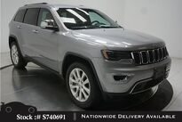 Jeep Grand Cherokee Limited NAV,CAM,PANO,CLMT STS,PARK ASST,HID LIGHTS 2017
