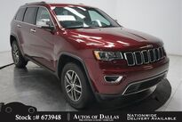 Jeep Grand Cherokee Limited NAV,CAM,SUNROOF,HTD STS,PARK ASST,18IN WLS 2017