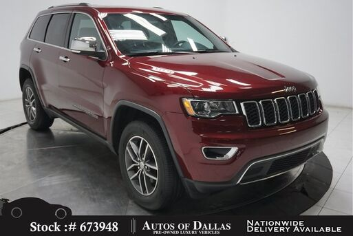 2017_Jeep_Grand Cherokee_Limited NAV,CAM,SUNROOF,HTD STS,PARK ASST,18IN WLS_ Plano TX