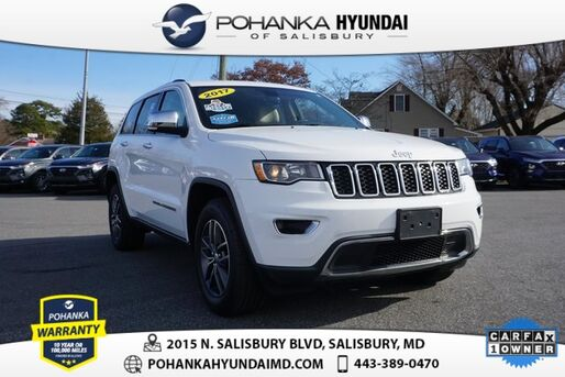 2017_Jeep_Grand Cherokee_Limited **ONE OWNER**_ Salisbury MD