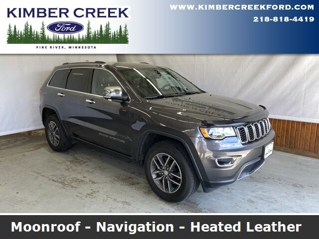 2017 Jeep Grand Cherokee Limited Pine River MN