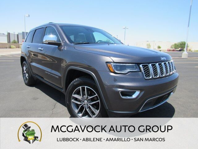 2017 Jeep Grand Cherokee Limited Lubbock TX