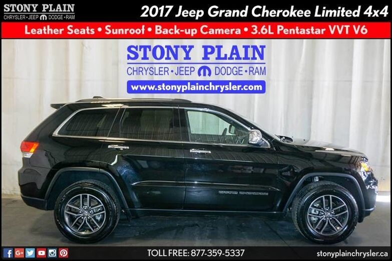 2017 Jeep Grand Cherokee Limited Stony Plain AB
