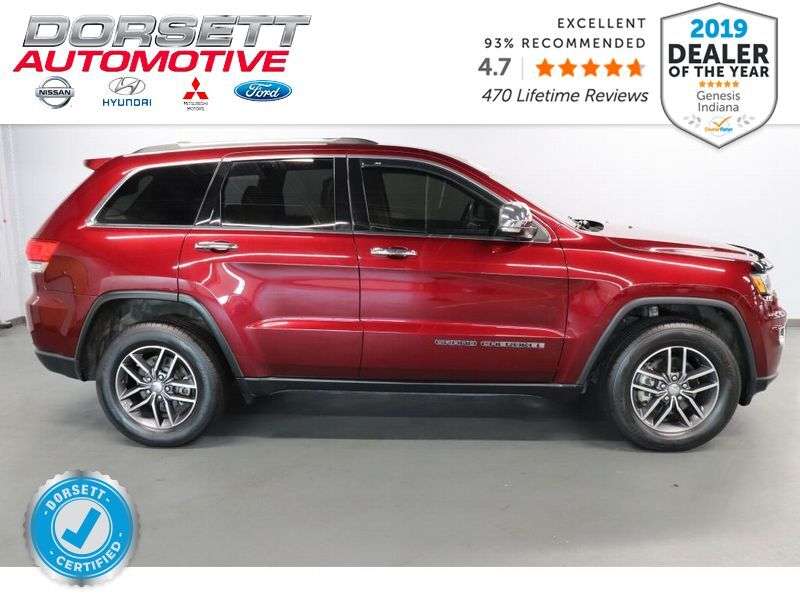 2017 Jeep Grand Cherokee Limited Terre Haute IN