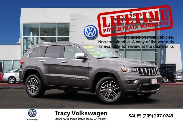 2017 Jeep Grand Cherokee Limited Tracy CA