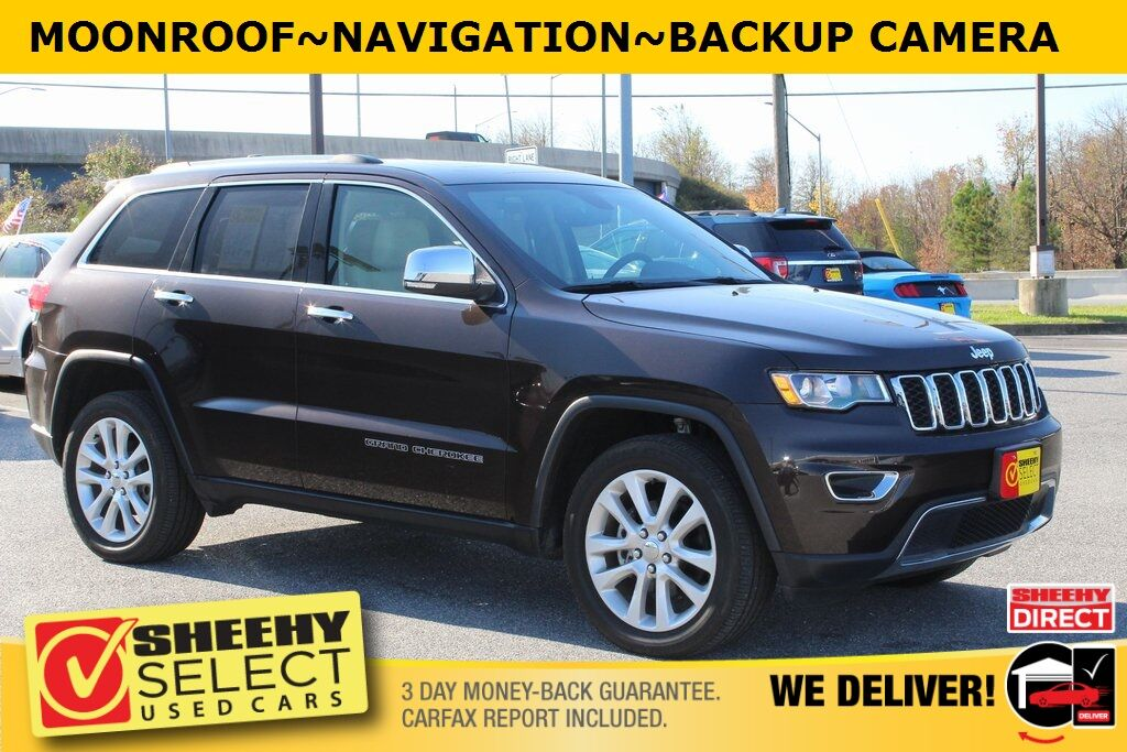 2017 Jeep Grand Cherokee Limited Suitland MD