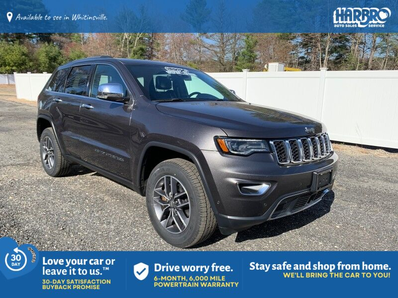 2017 Jeep Grand Cherokee Limited Whitinsville MA