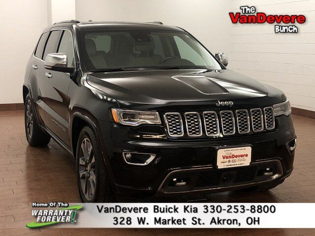 2017 Jeep Grand Cherokee Overland Akron OH