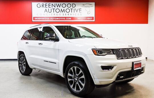 2017 Jeep Grand Cherokee Overland Greenwood Village CO