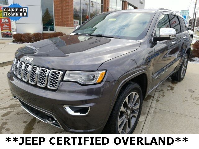 2017 Jeep Grand Cherokee Overland Mayfield Village OH