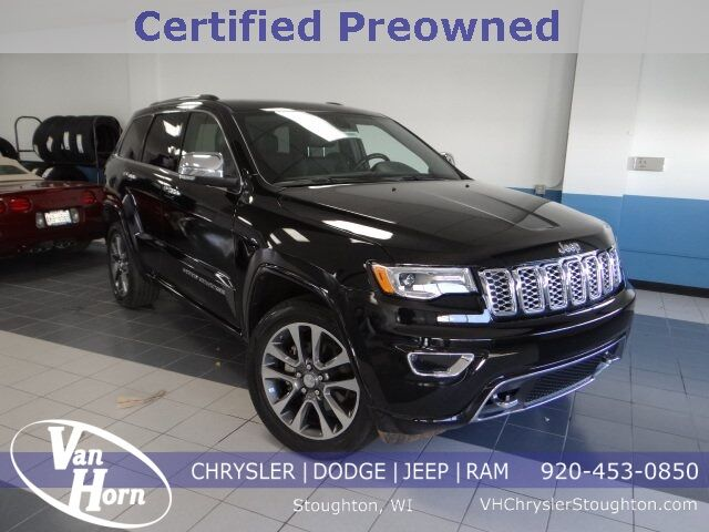 2017 Jeep Grand Cherokee Overland Stoughton WI