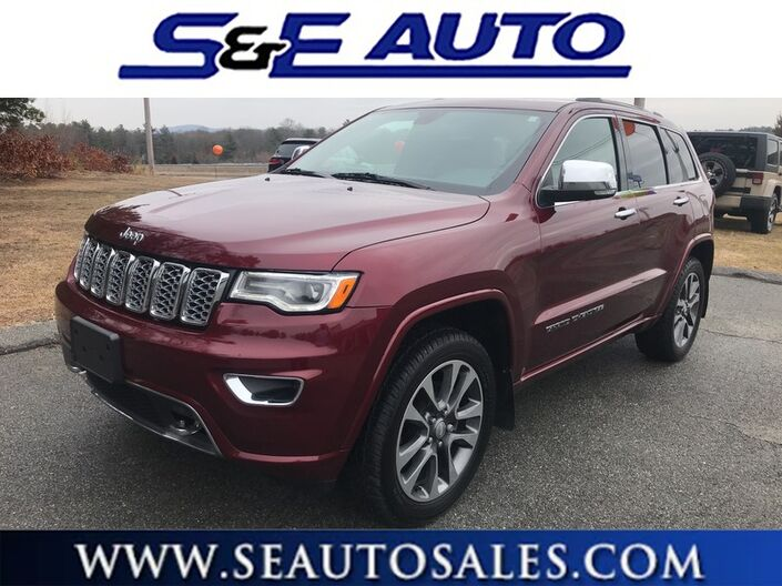 2017 Jeep Grand Cherokee Overland Weymouth MA