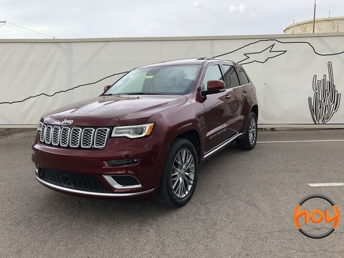2017 Jeep Grand Cherokee Summit El Paso TX