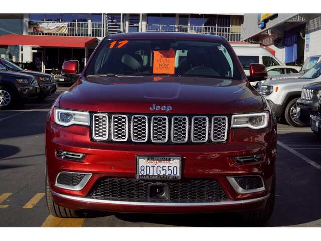 2017 Jeep Grand Cherokee Summit Glendale CA