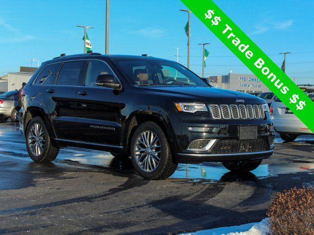 2017 Jeep Grand Cherokee Summit Green Bay WI