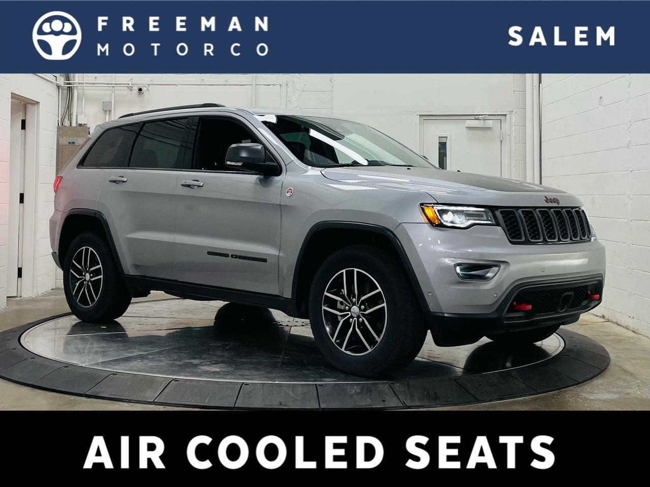 2017 Jeep Grand Cherokee Trailhawk 4X4 Adaptive Cruise Panoramic Roof Salem OR
