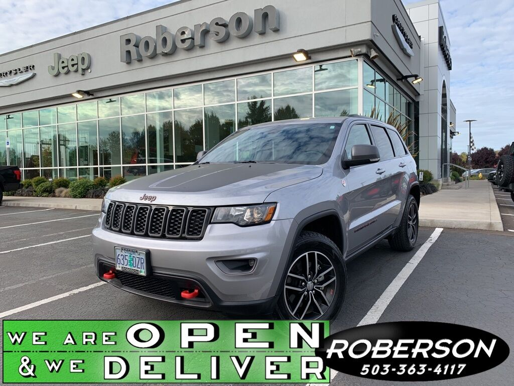 2017 Jeep Grand Cherokee Trailhawk 1C4RJFLG4HC803260