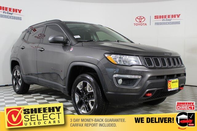 2017 Jeep New Compass Trailhawk Fredericksburg VA