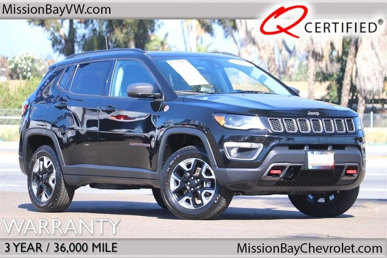 2017 Jeep New Compass Trailhawk San Diego CA