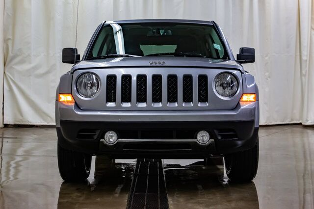 2017 Jeep Patriot 4x4 High Altitude Leather Roof Red Deer AB