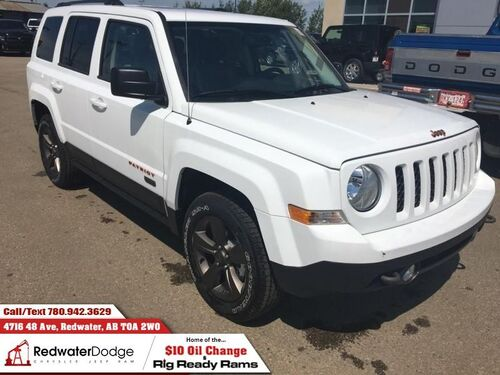 2017_Jeep_Patriot_75th Anniversary - Sunroof - Heated Seats_ Redwater AB