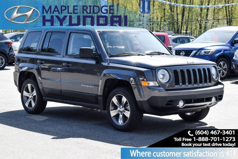 2017 Jeep Patriot AWD, High Altitude Edition Maple Ridge BC