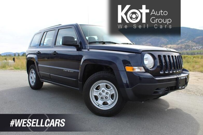2017 Jeep Patriot FWD Sport, Great Family Vehicle, Low Km's Kelowna BC