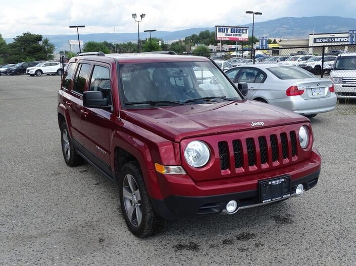 2017 Jeep Patriot High Altitude Edition Kelowna BC