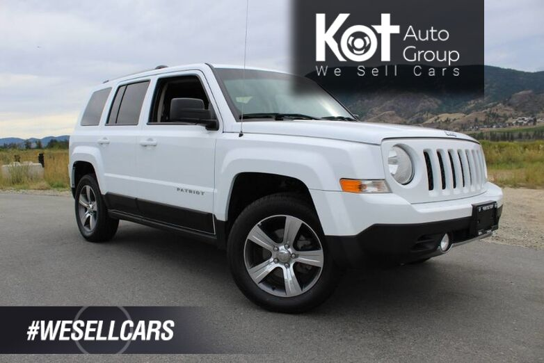2017 Jeep Patriot High Altitude Edition, No Accidents, Sunroof, Heated Front Seats Kelowna BC
