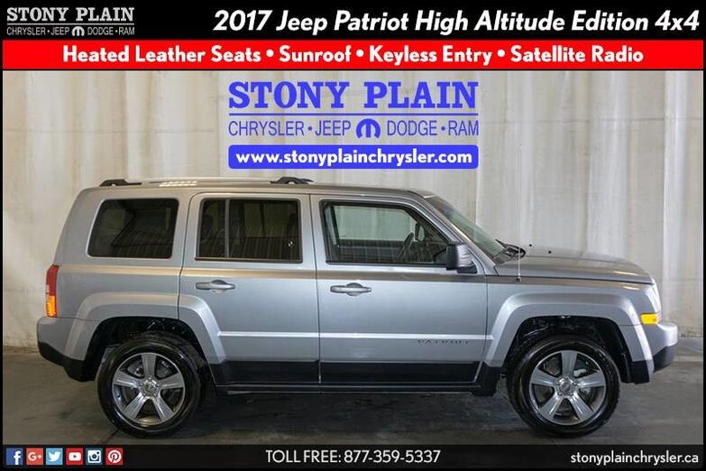 2017 Jeep Patriot High Altitude Edition Stony Plain AB