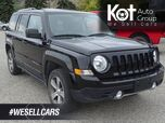 2017 Jeep Patriot High Altitude Edition, Sunroof, Low KM's, 4x4, Heated Leather Se