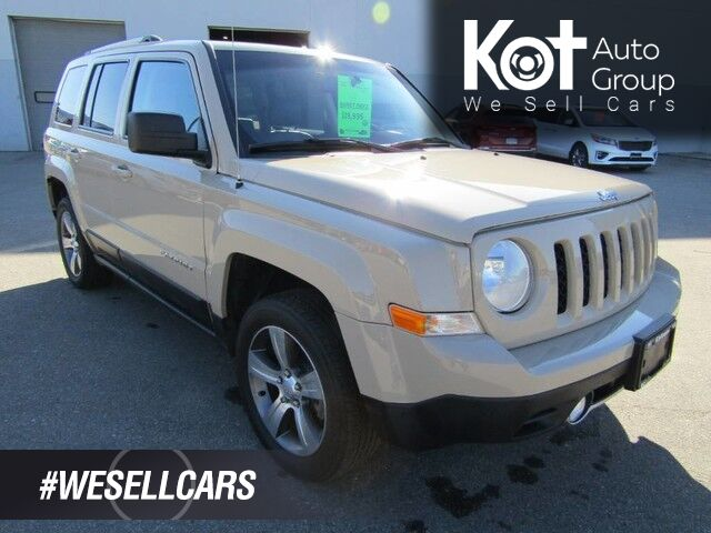 2017 Jeep Patriot High Altitude, Sunroof, Heated Seats, Cruise Control, Air Condit Kelowna BC