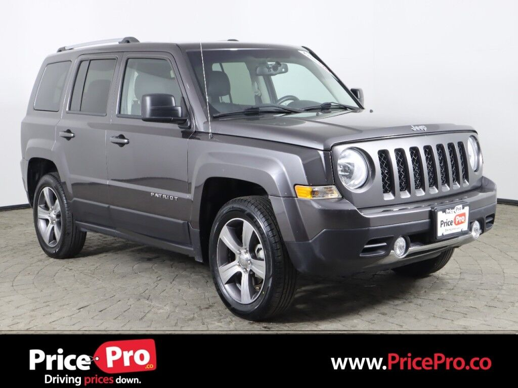 2017 Jeep Patriot High Altitude w/Heated Leather/Sunroof Maumee OH