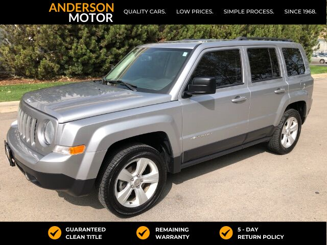 2017 Jeep Patriot Latitude 4WD Salt Lake City UT
